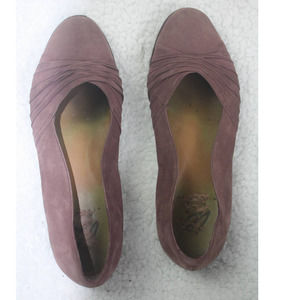 I.E. Leather Flats with NikeAir size 7